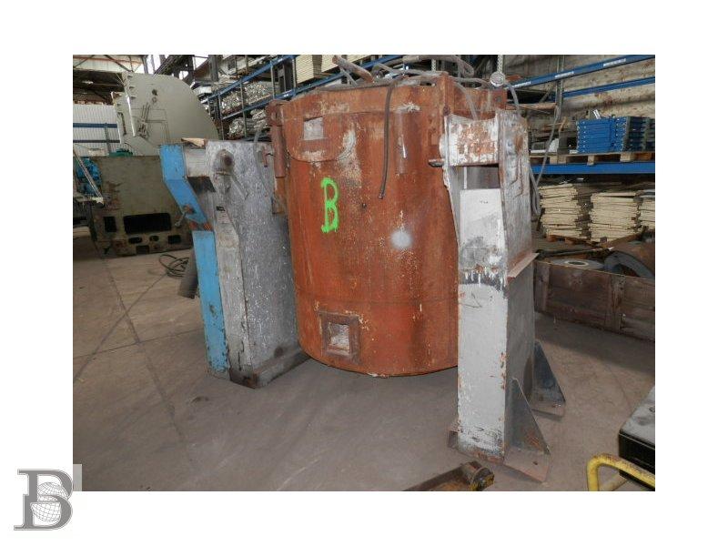 b11408 aluminium tiegelofen schmelzofen 585kg gebraucht. Black Bedroom Furniture Sets. Home Design Ideas