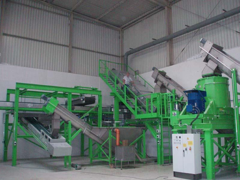 nassmechanische Trennanlage Maschinenbau