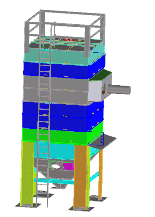 Produktkühler TKBD Maschinenbau Brama GmbH
