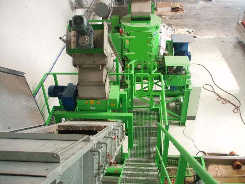 nassmechanische Mülltrennanlage Maschinenbau Brama GmbH