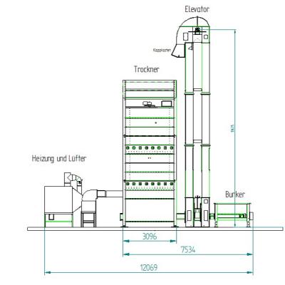 Silotrockner system TKBDs Maschinenbau GmbH Brama