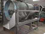 Trommelsieb im Gestell Maschinenbau Brama GmbH